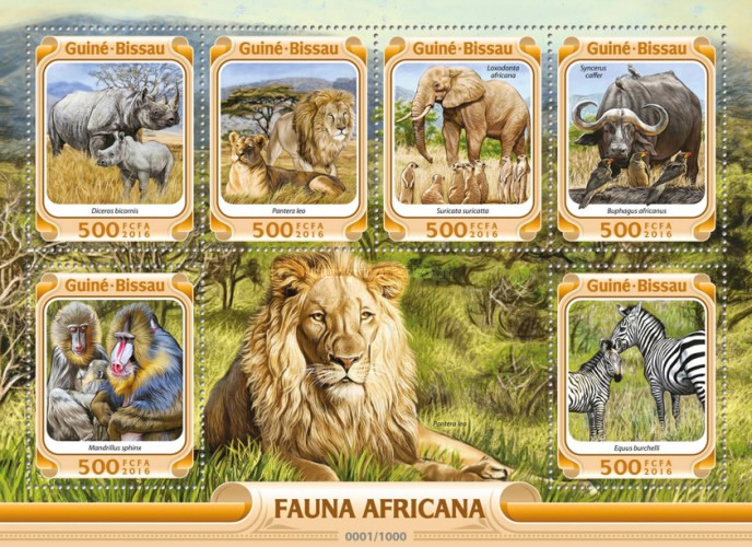 [Fauna - African Animals, Typ ]