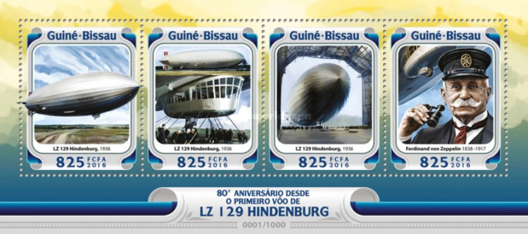 [Transportation - The 80th Anniversary of the First Flight of LZ 129 Hindenburg, Typ ]