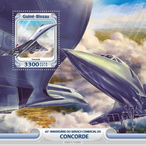 [Transportation - The 40th Anniversary of Concorde's Commercial Service, Typ ]