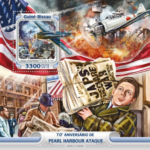 [The 75th Anniversary of the Pearl Harbor Attack, Typ ]
