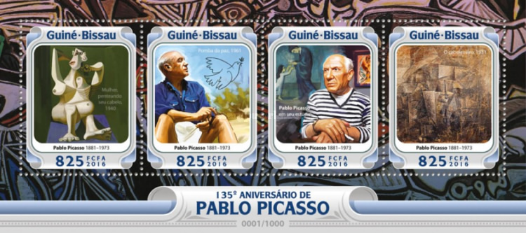 [The 135th Anniversary of the Birth of Pablo Picasso, 1881-1973, Typ ]