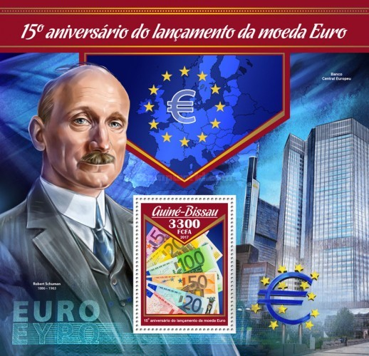 [The 15th Anniversary of the Launch of the Euro Currency, Typ ]