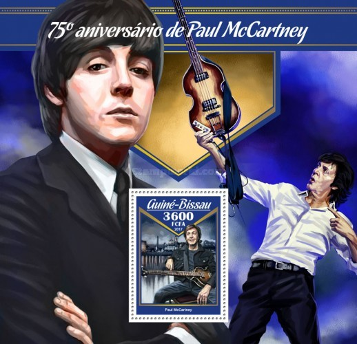 [The 75th Anniversary of the Birth of Paul McCartney, Typ ]