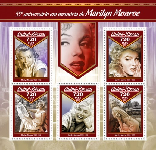 [The 55th Anniversary of the Death of Marilyn Monroe, 1926-1962, Typ ]