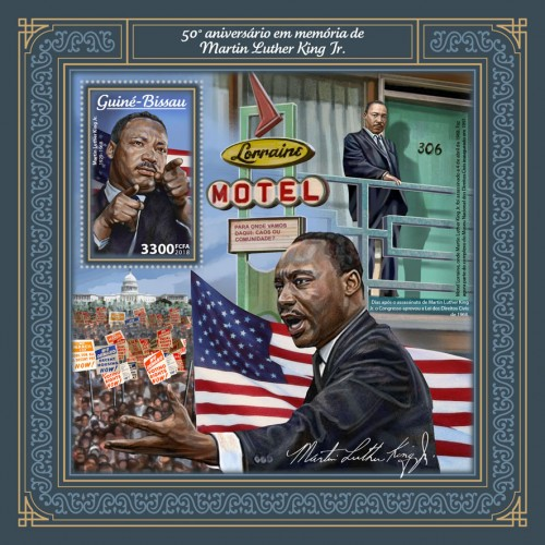[The 50th Anniversary of the Death of Martin Luther King Jr., 1929-1968, Typ ]