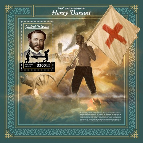 [The 190th Anniversary of the Birth of Henry Dunant, 1828-1910, Typ ]
