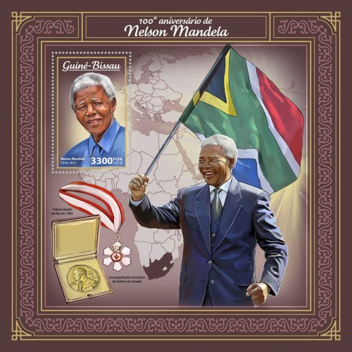 [The 100th Anniversary of the Birth of Nelson Mandela, 1918-2013, Typ ]