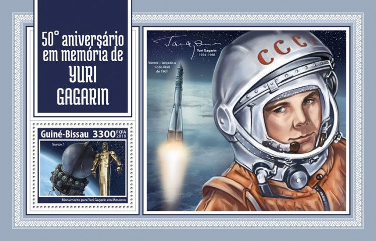 [The 50th Anniversary of the Death of Yuri Gagarin, 1934-1968, Typ ]