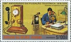 [The 100th Anniversary of the Telephone, type AC]