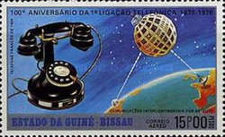 [Airmail - The 100th Anniversary of the Telephone, type AE]