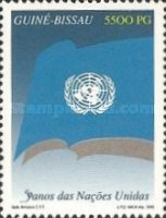 [The 50th Anniversary of United Nations, Typ AEG]