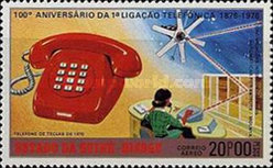 [Airmail - The 100th Anniversary of the Telephone, type AF]