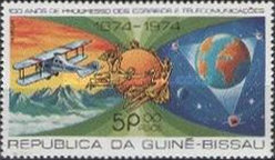 [The 100th Anniversary of the Universal Postal Union (1974), type BJ]