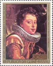 [The 400th Anniversary of the Birth of Peter Paul Rubens, type BZ]