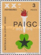 [The 20th Anniversary of the Founding of the PAIGC Party, type CD]