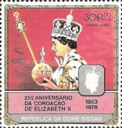 [The 25th Anniversary of Coronation of Queen Elizabeth II, type DJ]
