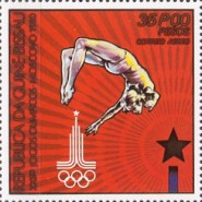 [Olympic Games - Moscow, USSR, Typ FR]