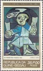 [The 100th Anniversary of the Birth of Pablo Picasso, 1881-1973, type HH]