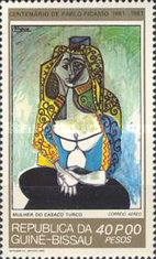 [The 100th Anniversary of the Birth of Pablo Picasso, 1881-1973, type HI]