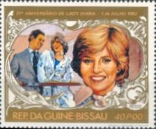 [The 21st Anniversary of the Birth of Diana, Princess of Wales, 1961-1997, Typ IK]