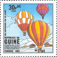 [The 200th Anniversary of Manned Flight, type IW]
