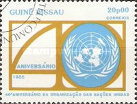 [The 40th Anniversary of the United Nations, type RK]