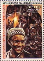 [The 3rd Anniversary of the Death of Amilcar Cabral, 1924-1973, Typ T]