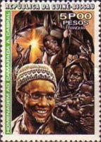 [The 3rd Anniversary of the Death of Amilcar Cabral, 1924-1973, Typ T1]