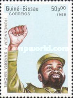 [The 2nd Anniversary of the Death of President Samora Machel of Mozambique, 1933-1986, Typ TX]