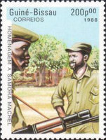 [The 2nd Anniversary of the Death of President Samora Machel of Mozambique, 1933-1986, Typ TY]