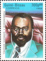 [The 2nd Anniversary of the Death of President Samora Machel of Mozambique, 1933-1986, Typ TZ]