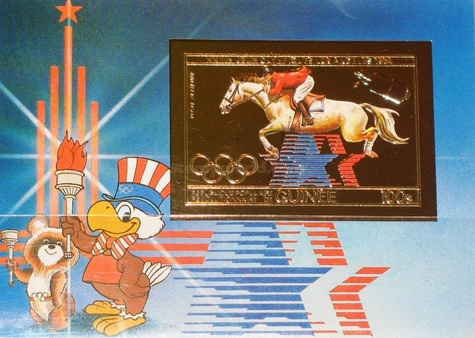 [Airmail - Olympic Games - Los Angeles '84, USA, Typ ]