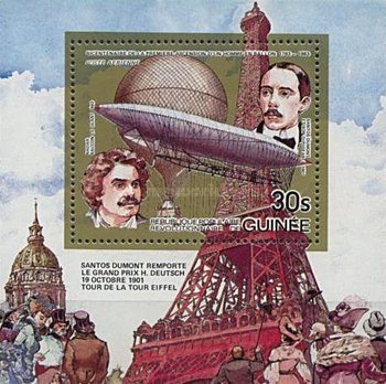 [Airmail - The 200th Anniversary of Manned Flight, type ]