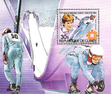 [Airmail - Winter Olympic Gold Medal Winners, Typ ]