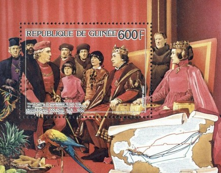 [Airmail - The 480th Anniversary of the Death of Christopher Columbus (Explorer), Typ ]