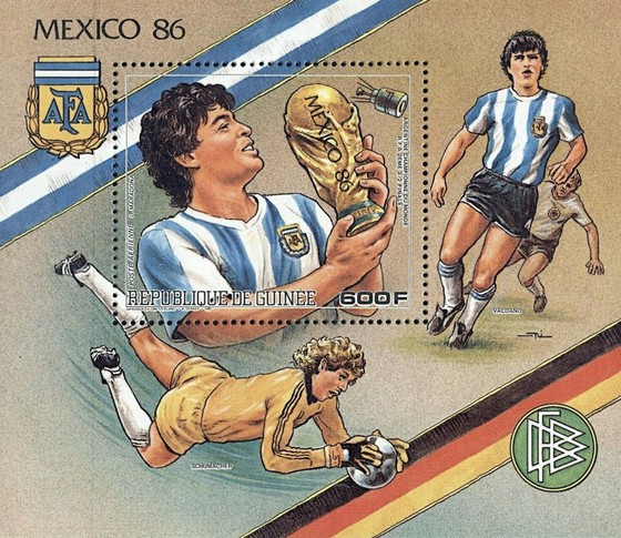 [Airmail - Football World Cup - Mexico 1986, Typ ]