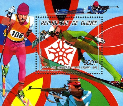 [Airmail - Winter Olympic Games - Calgary, Canada (1988), Typ ]