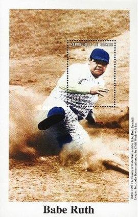 [The 50th Anniversary (1998) of the Death of Babe Ruth, 1895-1948, Typ ]