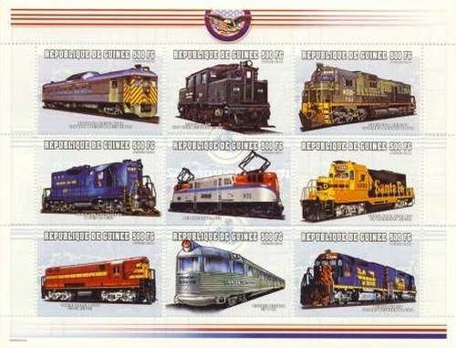 [Locomotives of the World, Typ ]