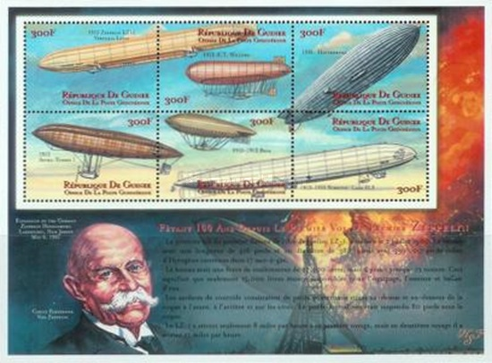[The 100th Anniversary of the First Zeppelin Flight, Typ ]