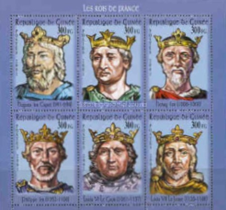 [French Kings, Typ ]