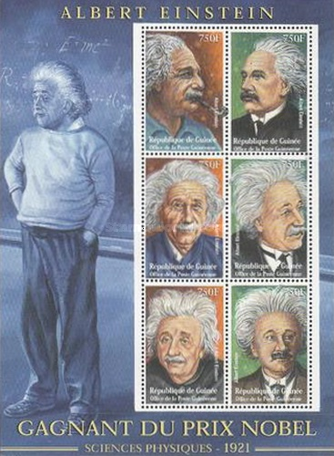 [The 80th Anniversary of the Awarding of the Nobel Prize in Physics to Albert Einstein (2001), Typ ]