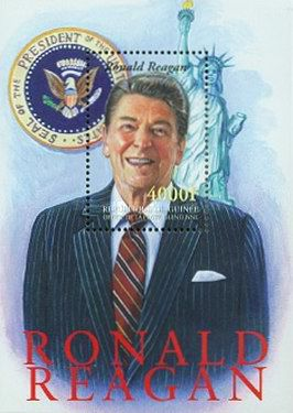[The 90th Anniversary of the Birth of Ronald Reagan, 1911-2004, Typ ]