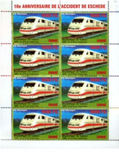 [Trains - Surcharged & Overprinted