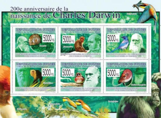 [Fauna - The 200th Anniversary of Charles Darwin, Typ ]