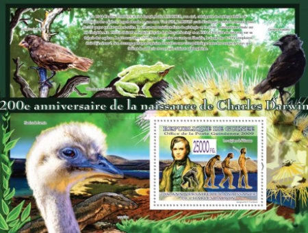 [Fauna - Birds - The 200th Anniversary of Charles Darwin, Typ ]