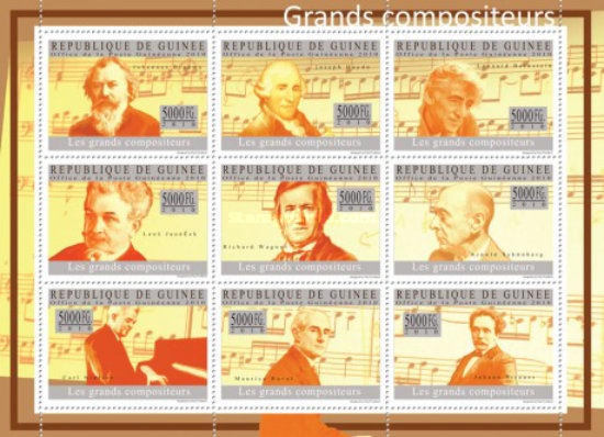 [Music - Grand Compositeurs I, Typ ]