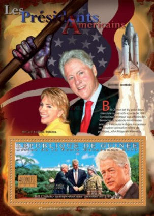 [The Presidents of USA - Bill Clinton, Typ ]