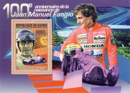 [Motorsport - The 100th Anniversary of the Birth of Juan Manuel Fangio, 1911-1995, type ]