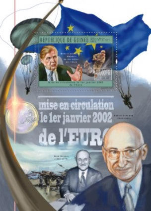 [Circulation of the Euro on 1st January, 2002, Typ ]